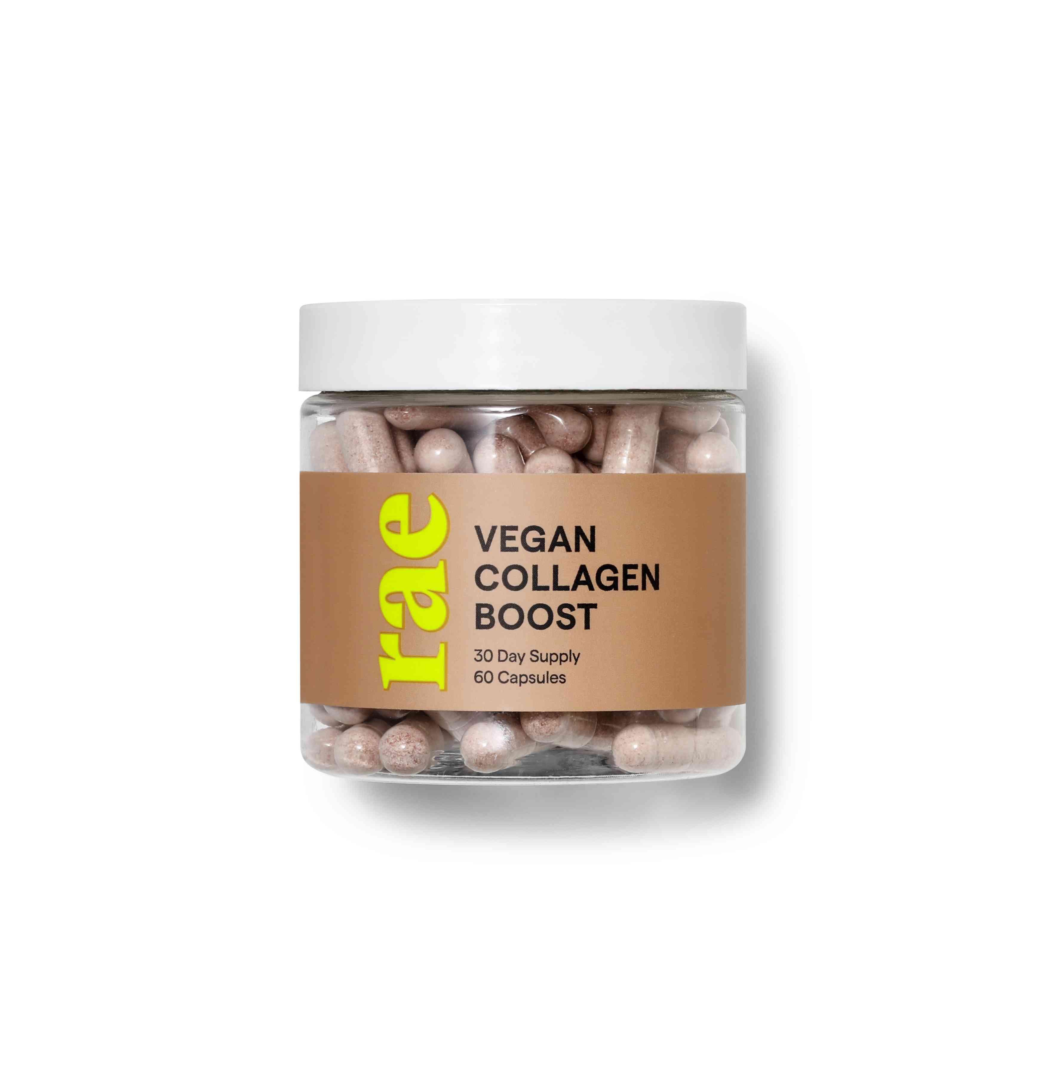Rae Wellness Vegan Collagen Boost Capsules