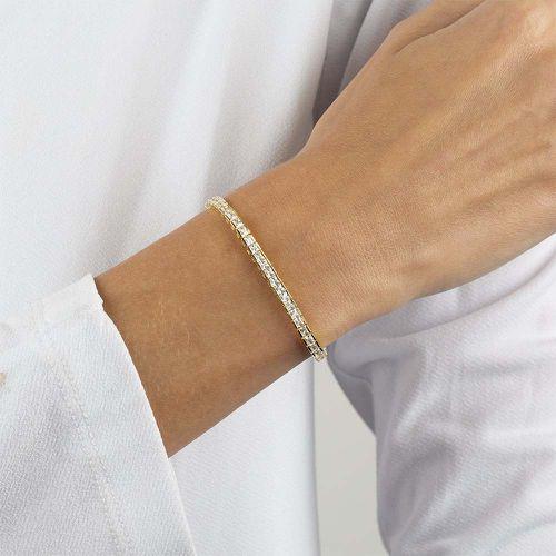 Princess Cut Tennis Bracelet ($98)