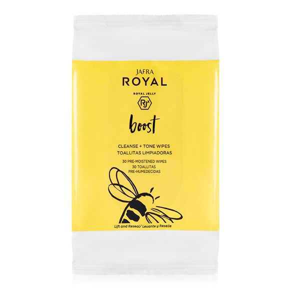 Jafra Royal Cleanse + Tone Wipes