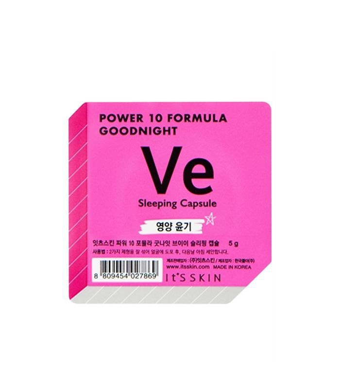 It's Skin Review: It's Skin Power 10 Formula Goodnight VE Glow Sleeping Capsule