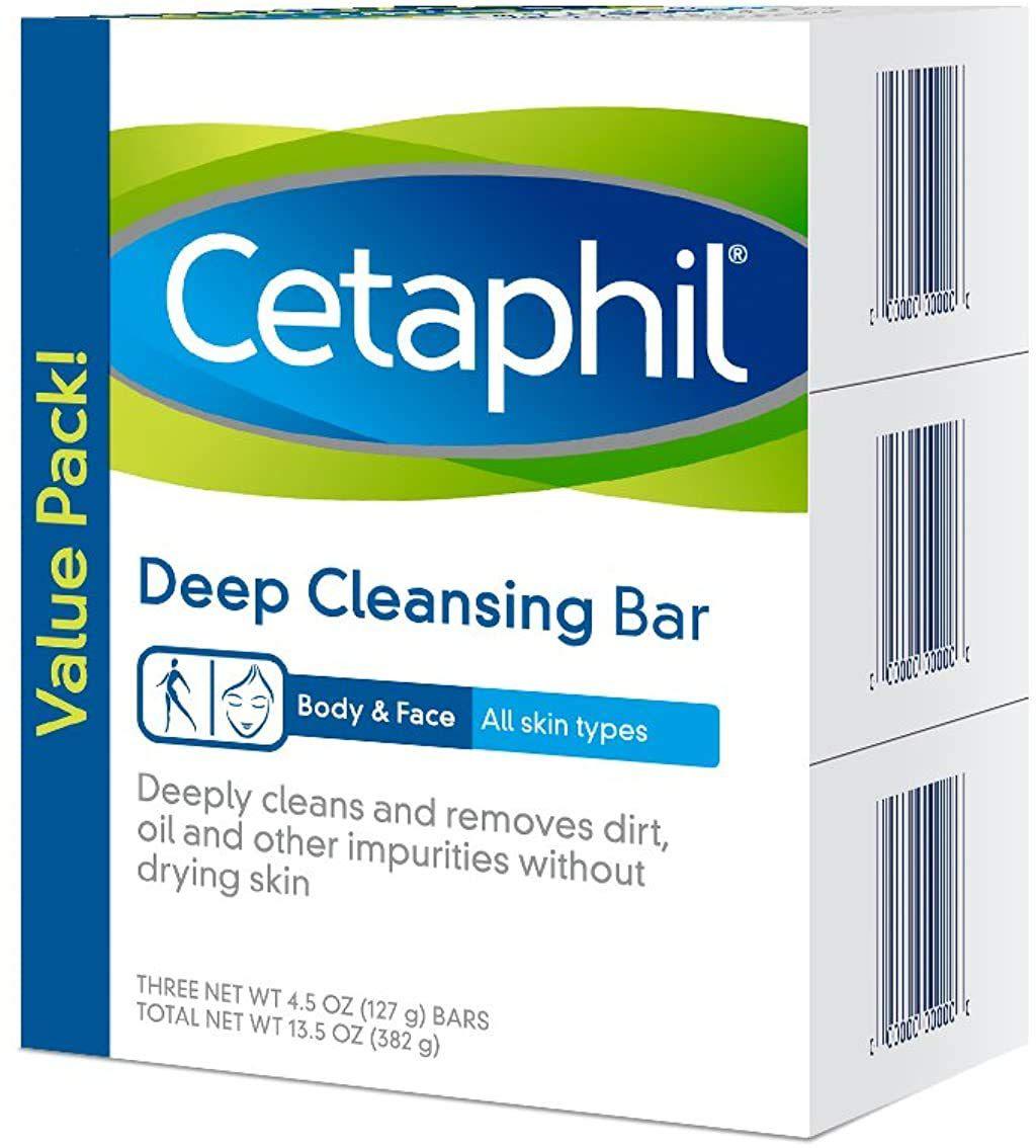 Cetaphil Deep Cleansing Face & Body Bar