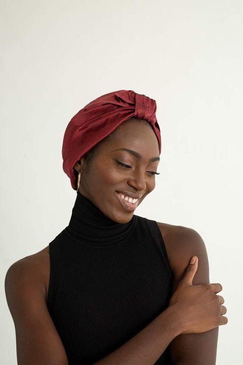 Grace Elayae Silk Turban