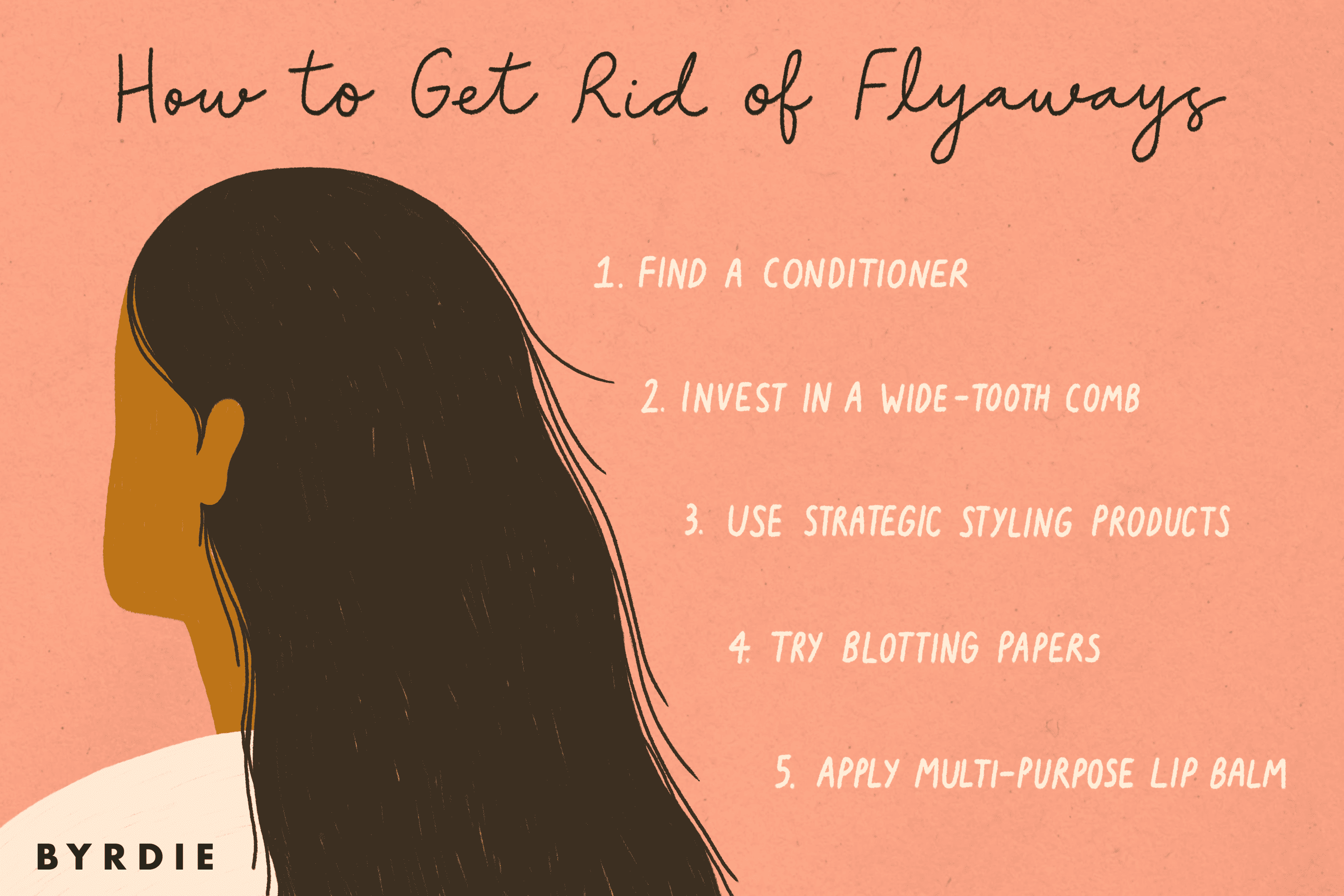 how to get rid of flyaways