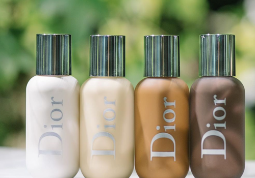 dior backstage foundation in a row