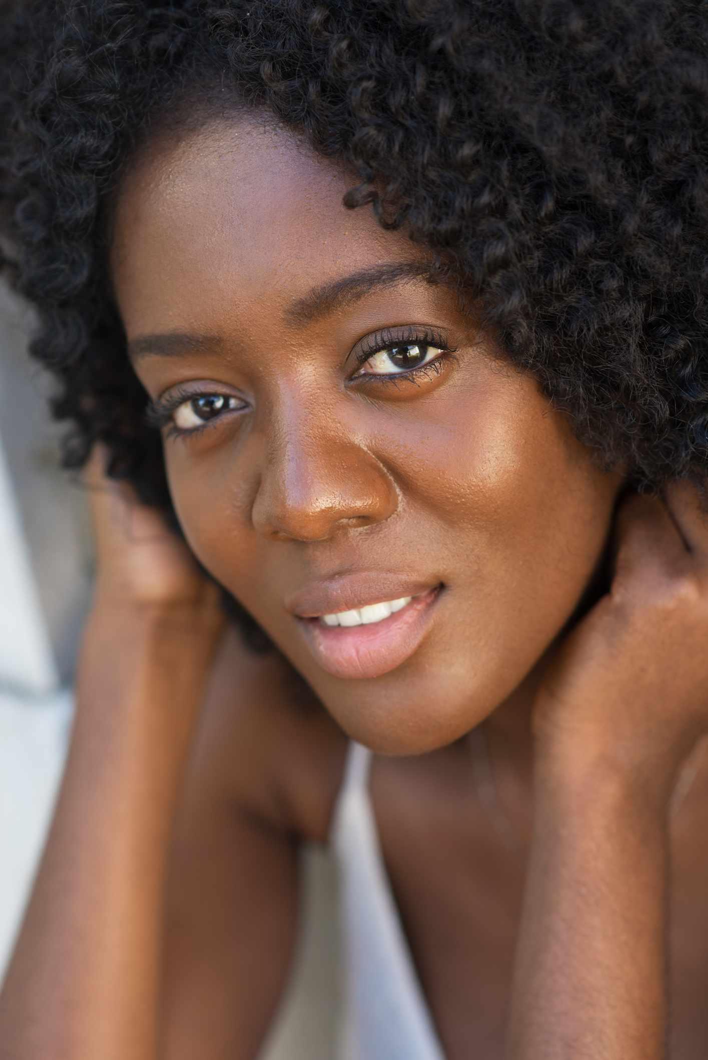 woman up close