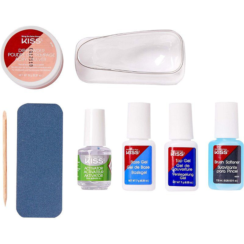 Kiss Salon Dip Color System Kit