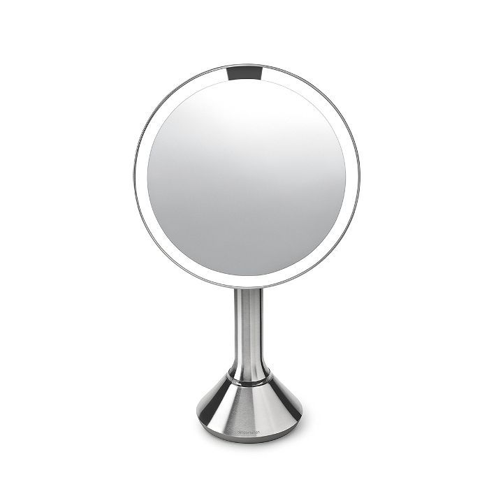 SimpleHuman Eight Inch Sensor Mirror With Brightness Control