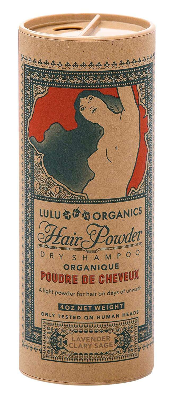 Lulu Organics Lavender & Clary Sage Dry Shampoo