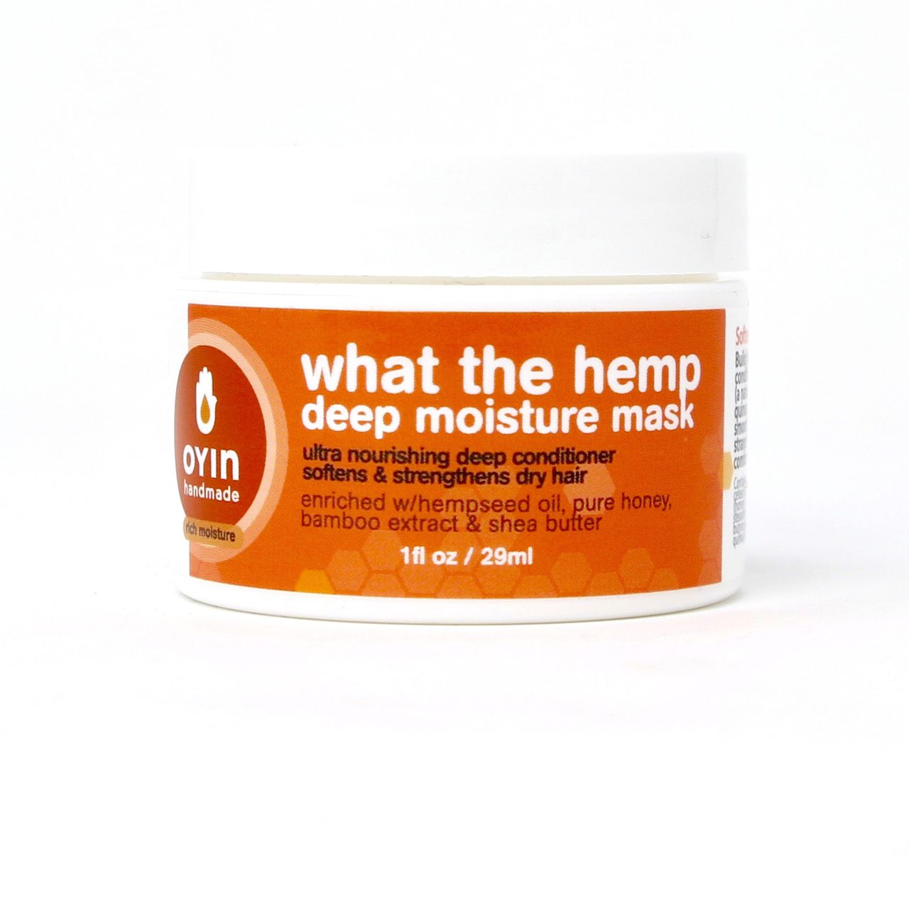 What The Hemp~Deep Moisture Mask