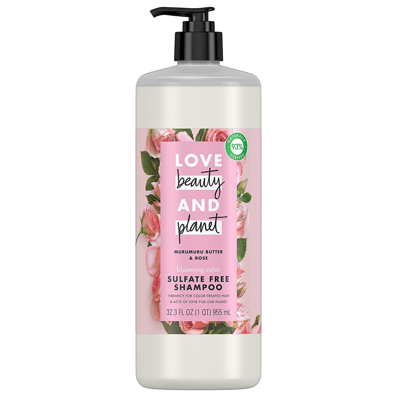Love Beauty & Planet Murumuru Butter & Rose Blooming Color Shampoo