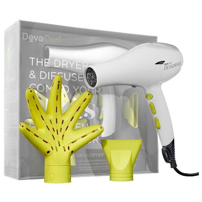 DEVADRYER(TM) & DEVAFUSER(TM) Dryer & Diffuser Combo For All Curl Kind