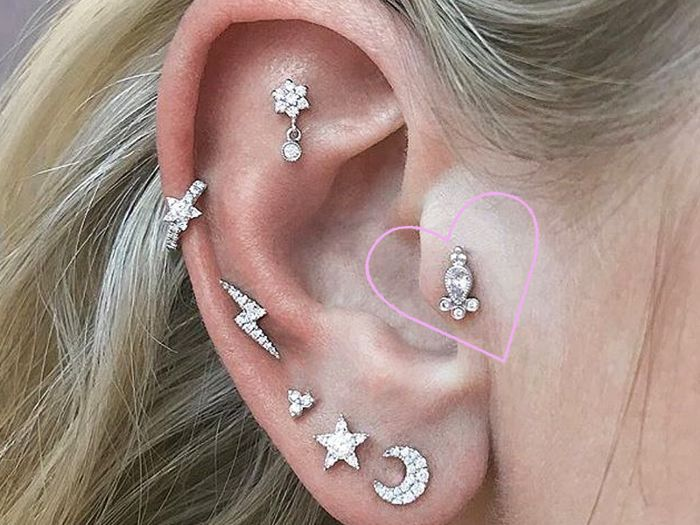 17f301cd1 Piercing 101: Everything You Need to Know About Tragus Piercings
