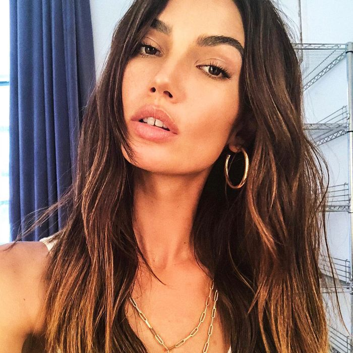 You're Going to Want to Copy Lily Aldridge's KKW Beauty Look