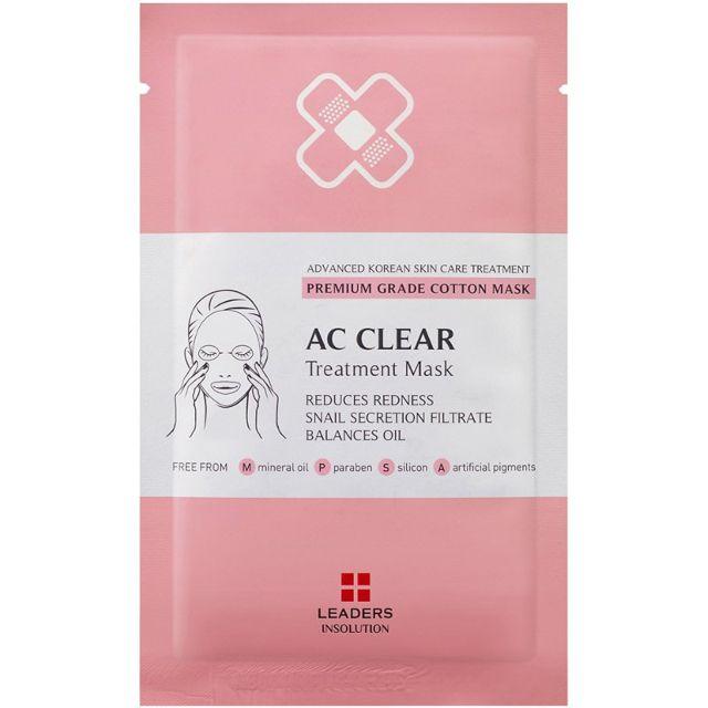 Leaders AC Clear Treatment Mask