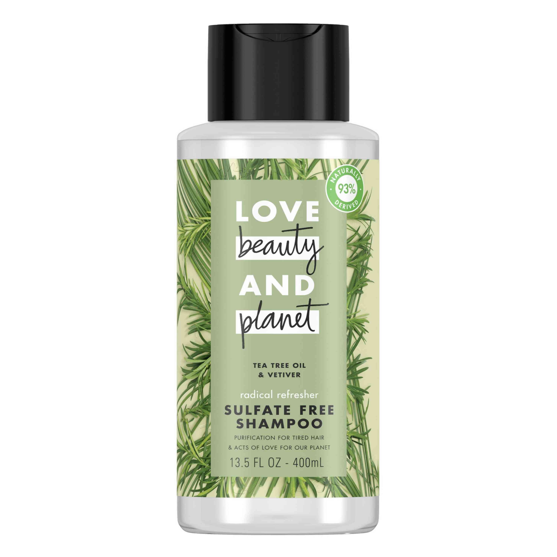 Love Beauty & Planet Tea Tree Oil & Vetiver Shampoo
