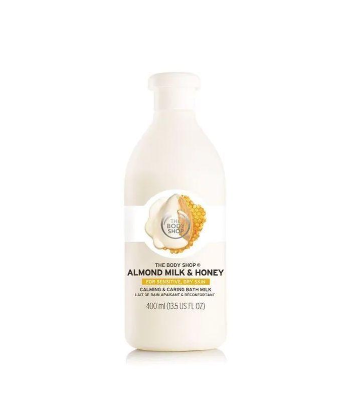 The Body Shop Almond Milk & Honey Calming & Caring Bath Milk
