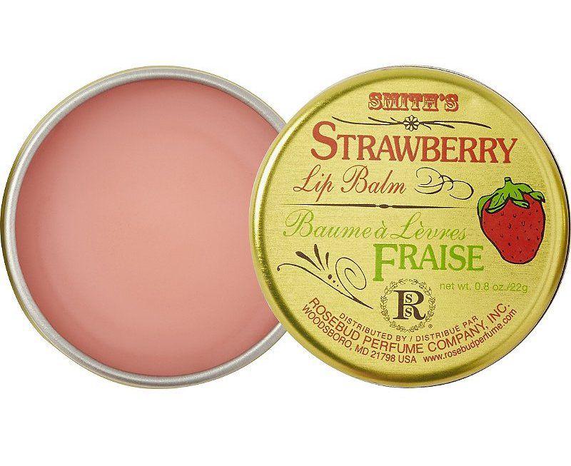 Rosebud Perfume Co. Strawberry Lip Balm