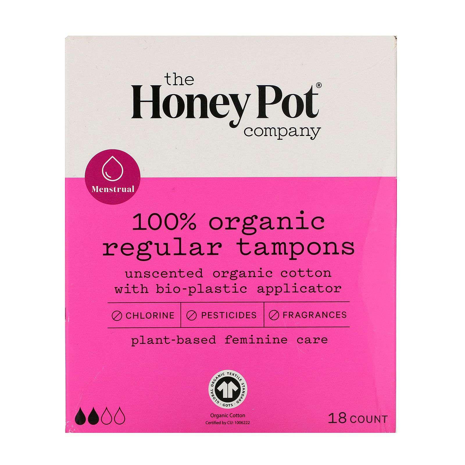 The Honey Pot Co Organic Tampons