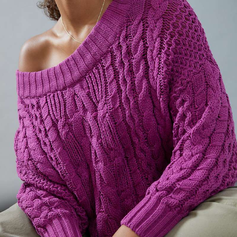 Bella Cable-Knit Sweater