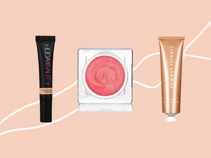 New beauty products from Huda Beauty, Shiseido, and Summer Fridays