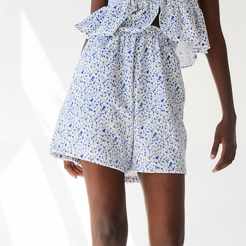 Priscila Plush Shorts