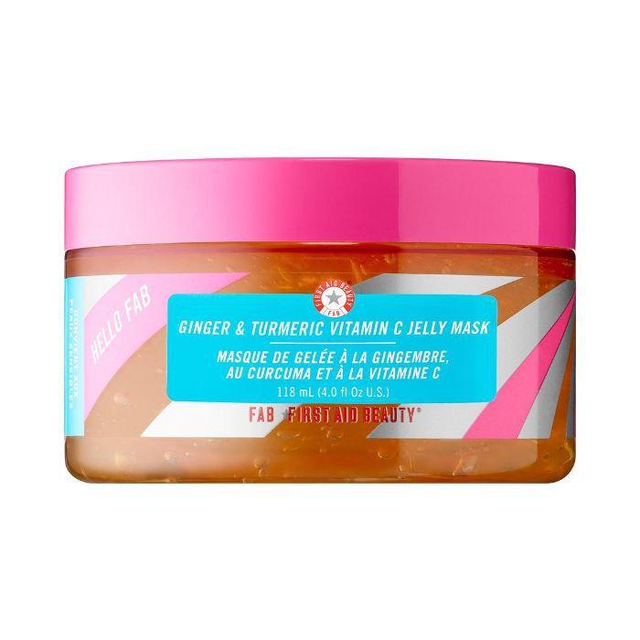 Hello FAB Ginger & Turmeric Vitamin C Jelly Mask 4 oz/ 118 mL