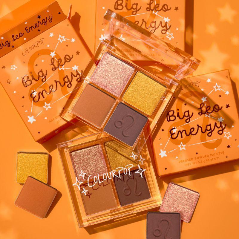 ColourPop Cosmetics Big Leo Energy Shadow Palette
