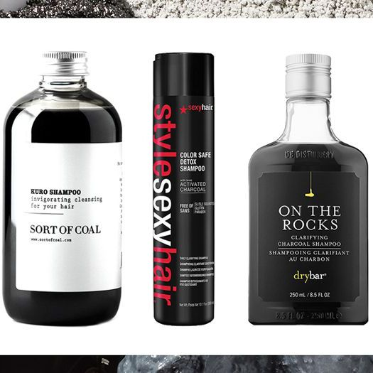 The Best Charcoal Shampoos for Hair That's Squeaky Clean