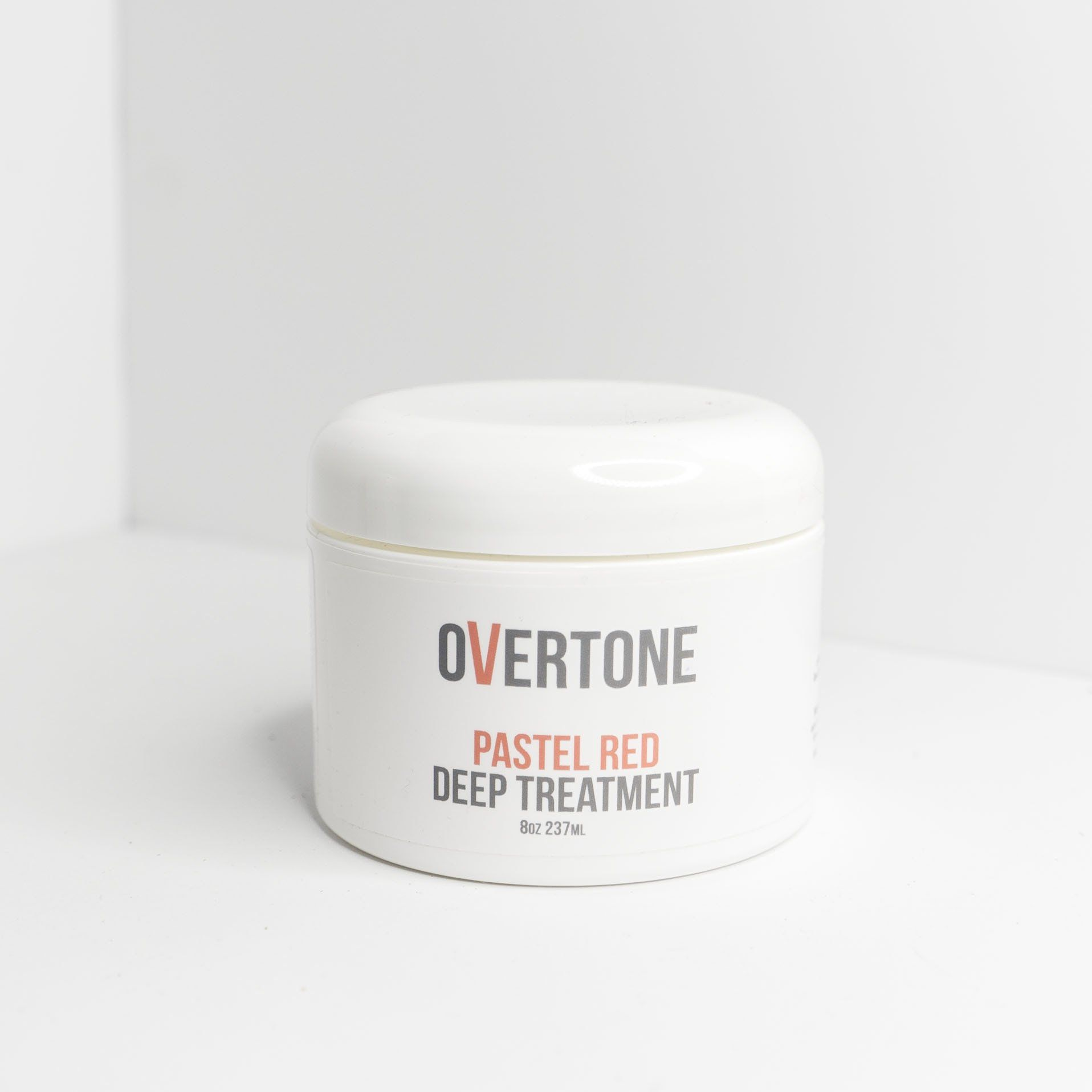 overtone pastel red treatment