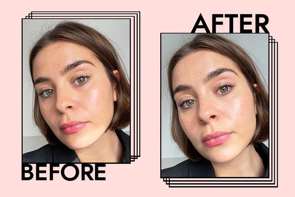 Rimmel Volume Colourist Mascara Results on Emily Algar