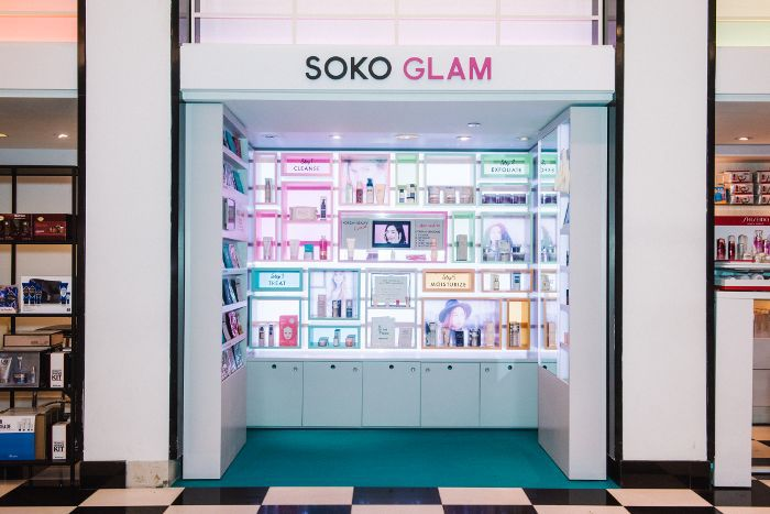 Soko Glam Bloomingdale's Pop-In