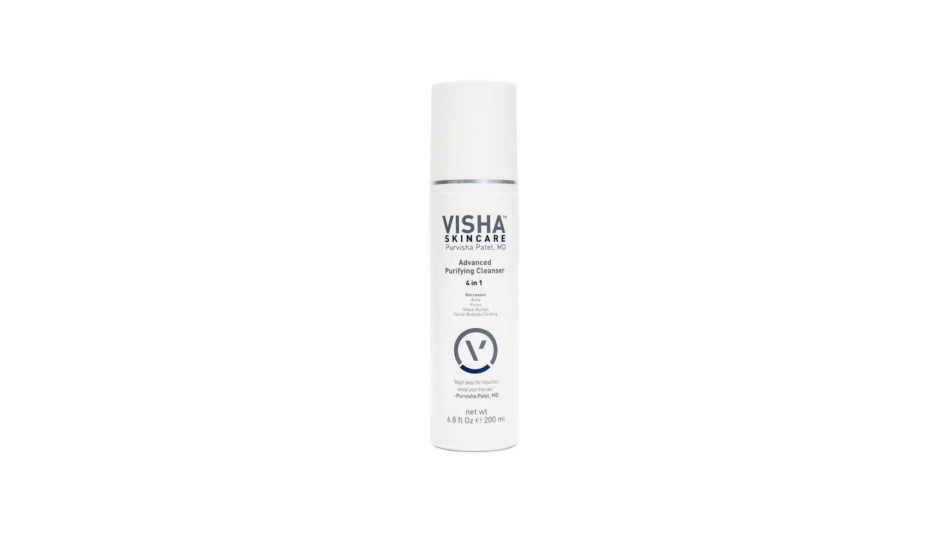 Visha Skincare cleanser