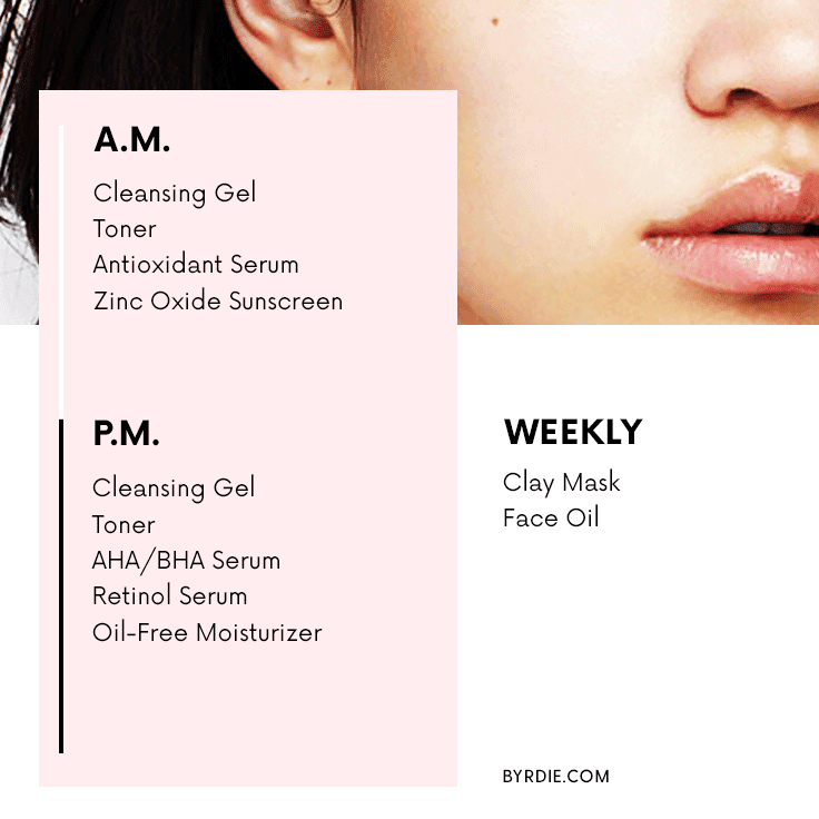 An Esthetician S Daily Skincare Routines For Every Skin Type