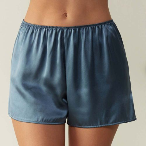 Smooth Silk Satin Shorts