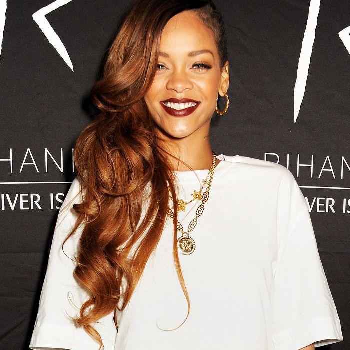 Copper Hair Colors - Rihanna