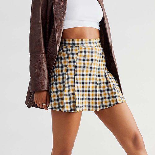 Honey Pleated Skirt ($60)