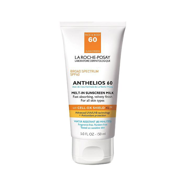 La Roche-Posay Anthelios 60 Body and Face Sunscreen Melt-In Milk Lotion