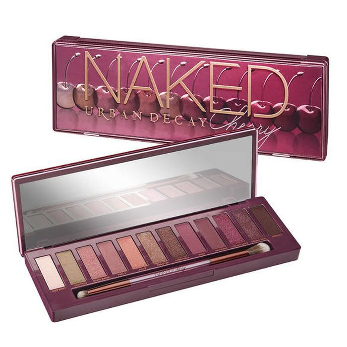 best eyeshadow palette: Urban Decay Naked Cherry Palette