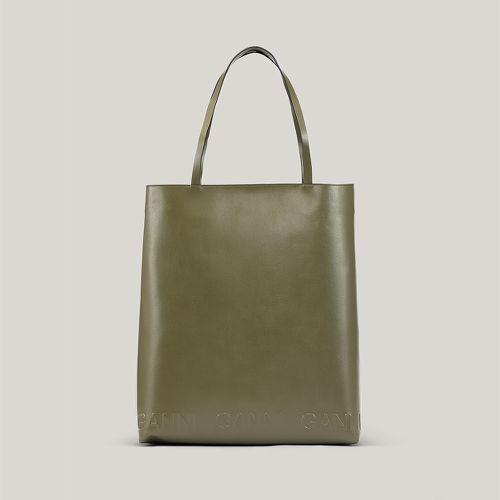 Fall Handbag Shapes Ganni Banner Large Tote
