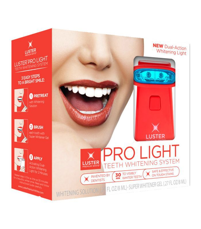 best teeth-whitening kit: Luster Pro Light Teeth Whitening System