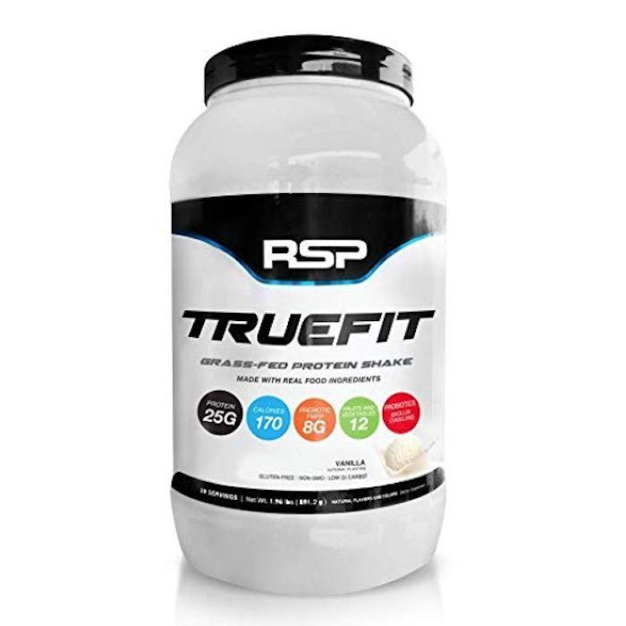 RSP Nutrition TrueFit Whey Protein Powder - Vanilla