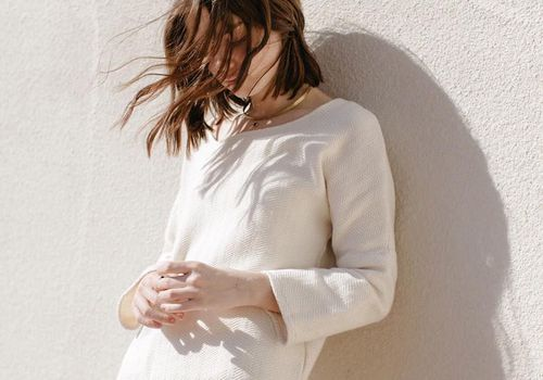 Girl looking anxious