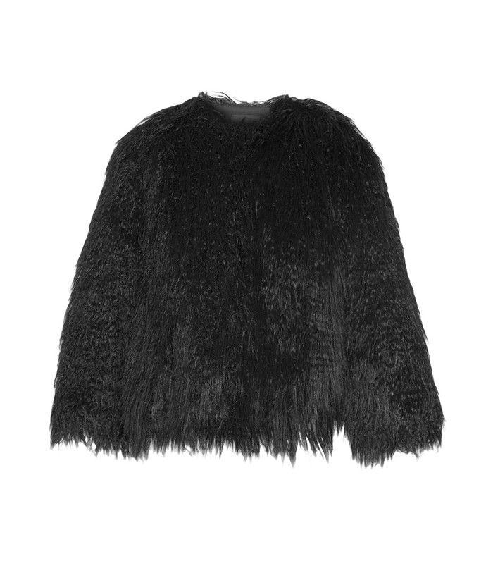Theory Elstana Faux Shearling Jacket