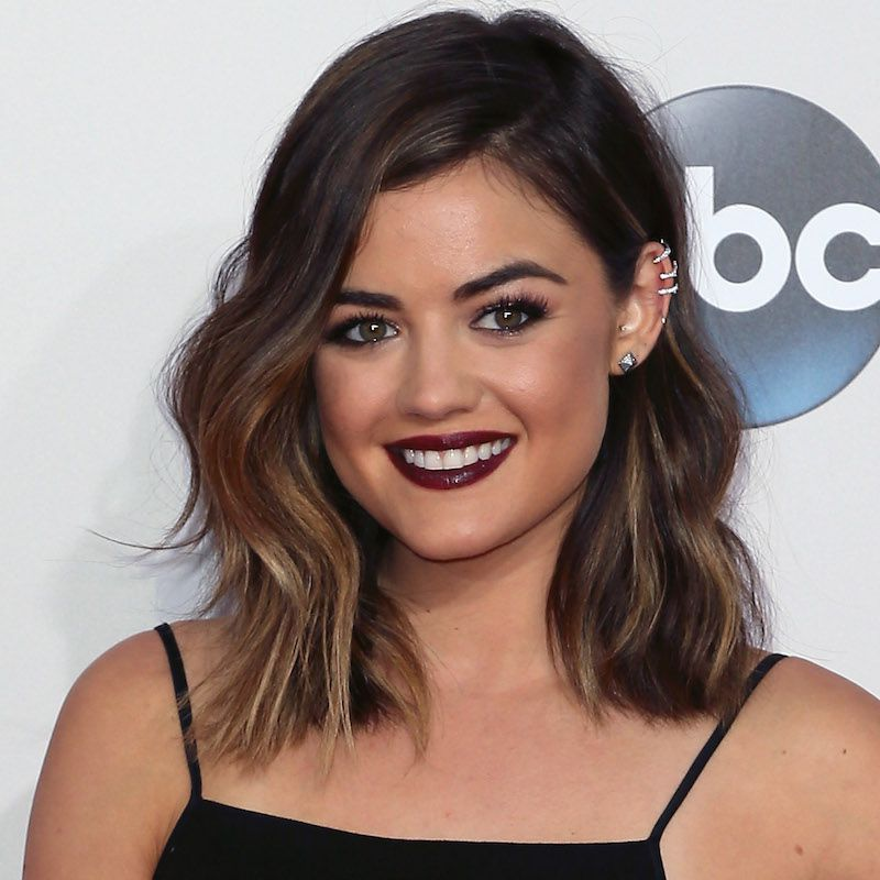 Brown Hair Color Lucy Hale