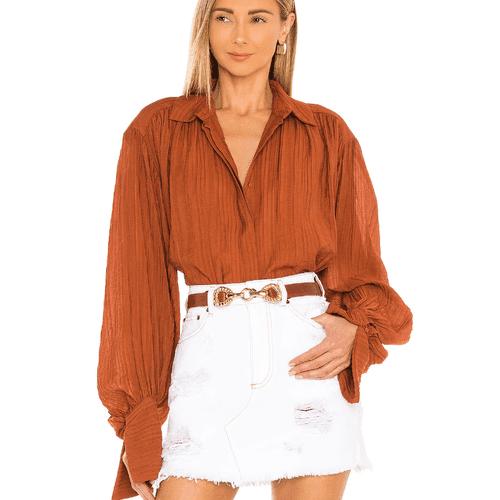 Shona Joy Mila Button Up Shirt