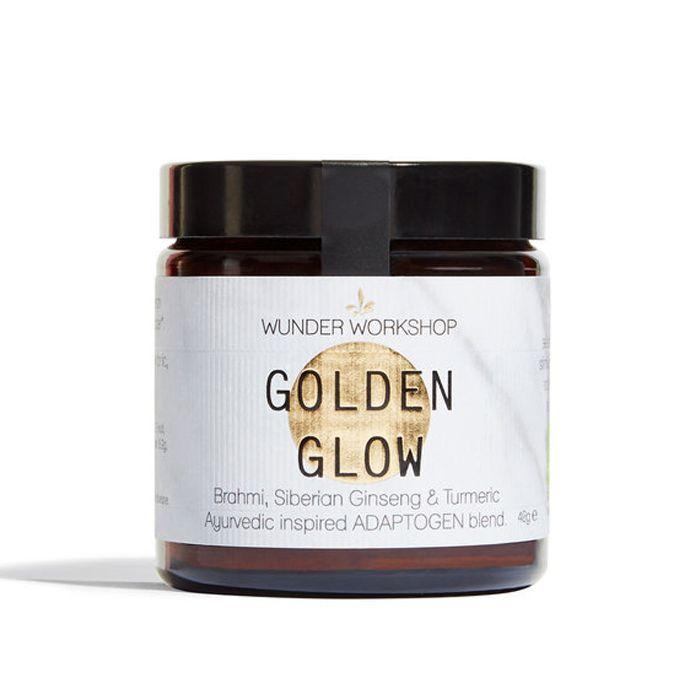 eco products: Wunder Workshop Golden Glow Adaptogens x Turmeric Blend