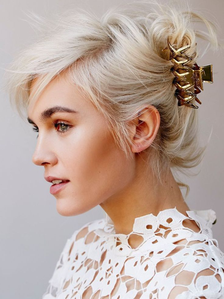 11 Chic And Simple Hairstyles For Wedding Guests