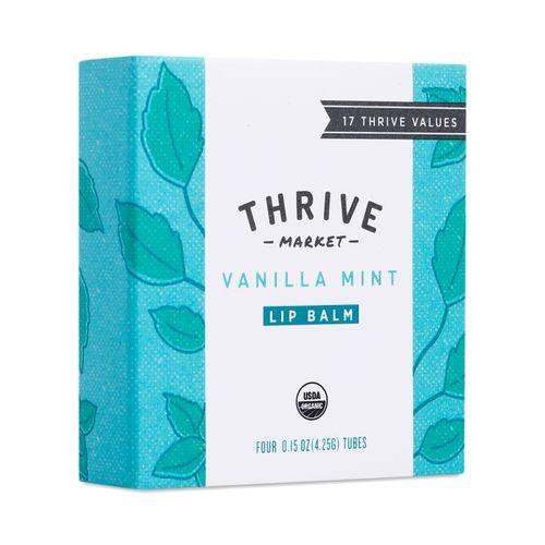 4-Pack Vanilla Mint Lip Balm ($7)