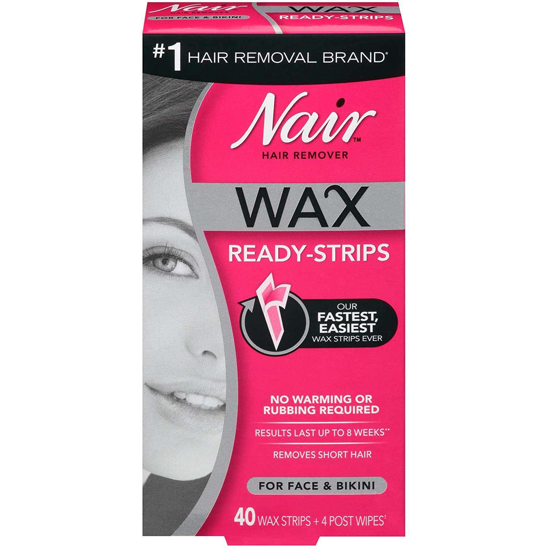 Nair Wax Ready-Strips for Face & Bikini