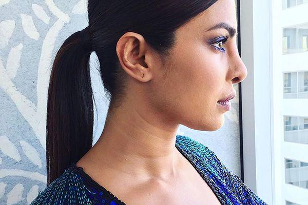 Priyanka Chopra Ponytail